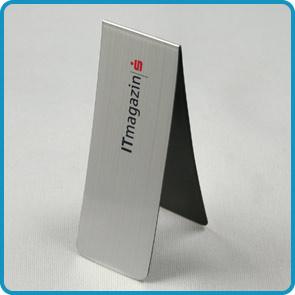 """Magnet-Lesezeichen mit Aluminiumbeschichtung """"TÜV"""""""