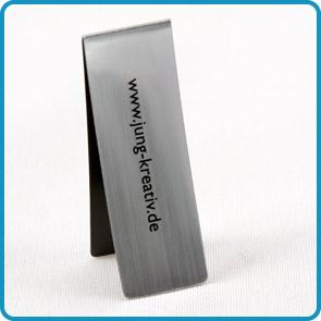 """Magnet-Lesezeichen mit Goldoberfläche """"Standesamt"""""""