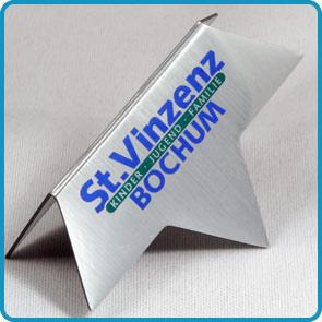 """Magnet-Lesezeichen mit Aluminiumoberfläche """"fotobuch"""""""