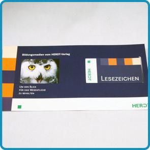 """Magnet-Lesezeichen mit Trägerkarte """"Columbus"""""""