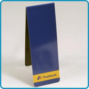 """Magnet-Lesezeichen mit Aluminiumoberfläche """"zappo-berlin"""""""